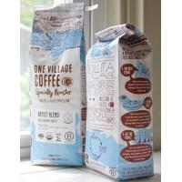 Wholesale pillow style plastic laminated with aluminum Coffee Packaging Bags from china suppliers