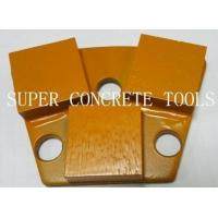 Buy cheap Trapezoid diamond Grinding Shoes For Concrete from wholesalers