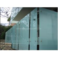 Wholesale Shower Room Obscure Acid Etched Glass Patterns , Double Sided Auto Float Glass from china suppliers