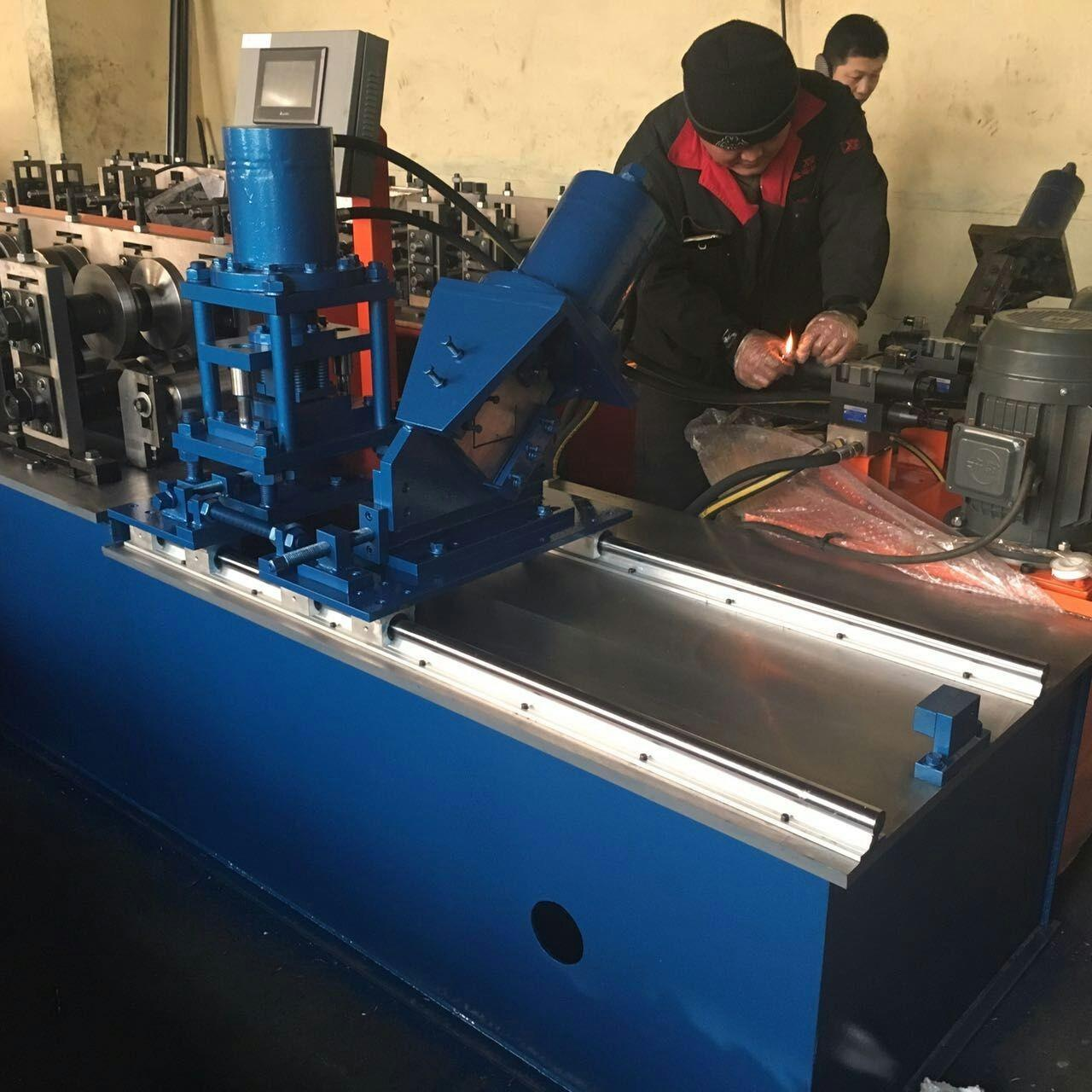 Wholesale light keel Steel Strip Cold Roll Forming Machine with servo motor none stop cutting system from china suppliers