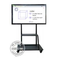 Buy cheap Mobile Stand Electronic IR Interactive Whiteboard 4K Touch Screen Android and Windows Systems from wholesalers