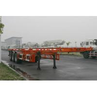 Wholesale 40ft Skeletal Three Axles Steel Shipping Container Trailer Chassis ISO9001 CCC from china suppliers