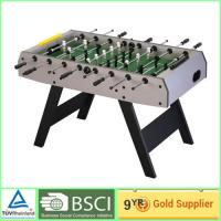 China 16mm Chrome Plated air core pontil Foosball Table , Muti color football game table on sale