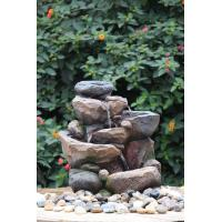 Wholesale Professional 3 Tier Outside Rock Water Fountains For Garden Ornaments from china suppliers