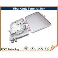 Wholesale Wallmount Cabinet 4 Core Fiber Optic Terminal Box / Ftth Termination Box from china suppliers