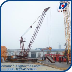 Wholesale QD Series 15 Meters Jib Derrick Crane 1.5t Tip Load 3t Max.Load Capacity from china suppliers