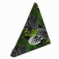 Wholesale 100% Cotton Bandana, Customized Designs, Logos and Sizes Accepted from china suppliers