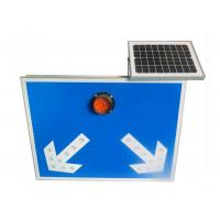 Wholesale Solar Power Message LED Traffic Turn Signs for Road Turning from china suppliers