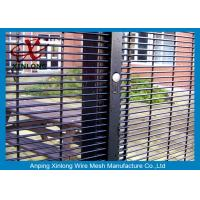 Buy cheap Anti - Climbing Galvanized 358 High Security Fence Convenient Installation for Airport from wholesalers