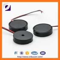 Wholesale Black ABS 9 Volt 4800Hz Wire Buzzer , 85dB Micro Piezo Transducer from china suppliers