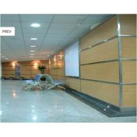 Soundproof Wooden Grooved Acoustic Panel For Wall / Ceiling