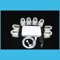 Wholesale COMER 8 usb port security Retail shop alarm and charging display anti theft mobile holder from china suppliers