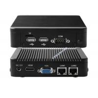 Wholesale N2930 mini aluminum chassis network firewall security industrial pc high performance from china suppliers