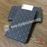 Buy cheap Leather Poker Cheat Device Electronic Wallet Card Exchanger For Magic Trick from wholesalers