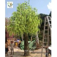 Wholesale UVG trees are artificial with wisteria blossoms for party and beach wedding decoration WIS013 from china suppliers
