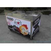 Wholesale CE Stainless Steel Food Cart / Fast Food Cart / Mobile Fry Cart For Chicken from china suppliers