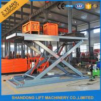 Wholesale Electric Hydraulic Guide Rail Warehouse Elevator Lift Platform 5000kg Loading Capacity from china suppliers