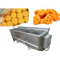 Wholesale 12kw Semi Automatic Potato Chips Making Machine With Double Baskets from china suppliers