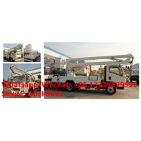 Wholesale 2018s SINO TRUK HOWO new 12-18m hydraulic aerial working platform truck for sale, High altitude operation truck from china suppliers