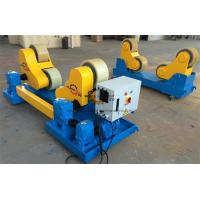 Quality 30 T High Tensile Steel Self Aligned Welding Rotator Roller Bed With PU Wheels for sale