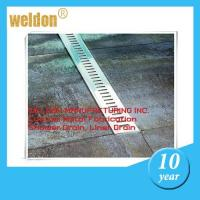 Wholesale Kitchen decorative channel shower drain custom  300mm to 2000mm shower pan drain from china suppliers