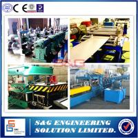 Wholesale Upright Storage Rack Roll Forming Machine 45# Steel Sharft Material from china suppliers
