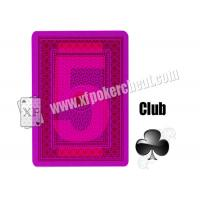Wholesale Magic Props Invisible Playing Cards 4 Jumbo Plastic Marked With Invisible Ink Poker Cheat Contact Lenses from china suppliers