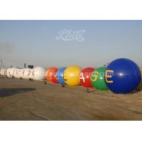Wholesale 0.2mm Durable PVC Inflatable Helium Balloons / White And Blue Color Airtight Balloon from china suppliers