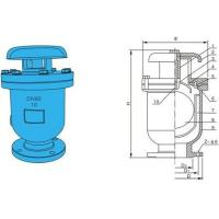 """Wholesale QT450 RF Exhaust Valve , Portable Air Release Valve 4 """" x  PN10 For gas from china suppliers"""