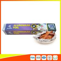 Wholesale Disposable Food Grade Aluminum Foil Sheets Oil Resistant , Aluminium Sheet Roll from china suppliers