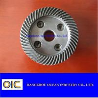 M1 M1.5 Transmission Mini Spiral Bevel Gear With Case Harden