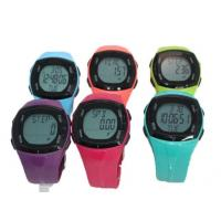 Wholesale 3 ATM Waterproof Heart Rate Monitor Watches Calorie Counter Pedometer Functions from china suppliers