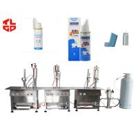 Wholesale Aerosol Nasal Spray Filling Machine , Salmeterol Inhaler Spray Filling Machine from china suppliers