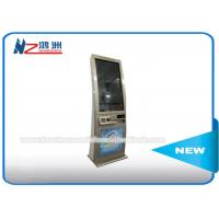 Quality Multi Functional Card Dispenser Kiosk , Subway Metrocard Vending Machine for sale