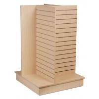 Wholesale Durable Wood Slatwall Display Rack Shelf Stand For Pharmacy from china suppliers