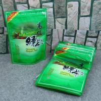 Wholesale Food Grade Zipper Plastic Bags With Clear Window For Tea Packaging from china suppliers