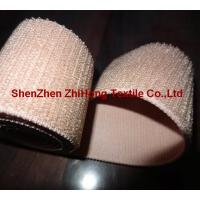 Wholesale Customized weave un-brushed/un-napped elastic hook and loop fastener band from china suppliers