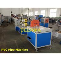 Wholesale Large Diameter Plastic Extrusion Machine  , Water PVC Pipe Extrusion Line from china suppliers