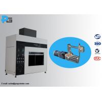 Wholesale 45 Degree Tilted Needle Flame Test Apparatus Fire Hazard Protection Testing Equipment IEC60695 from china suppliers