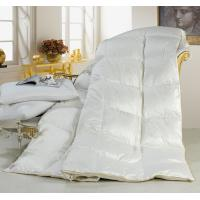 Wholesale King Embossing Cotton Duck Down Feather Quilt Soft and Warm for Home or Hotel Winter Use from china suppliers