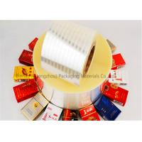 Wholesale Double Sided Heat Sealable BOPP Film Thermal Lamination 2800m Length from china suppliers