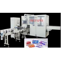 Buy cheap OPR90 Facial Tissue Wrapper Machine 90pack/Min , 6servo Motors Tissue Packing Machine from wholesalers
