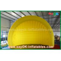 Wholesale Yellow Helmet Inflatable Air Tent Inflatable Igloo Tent Dome For Event / Party from china suppliers