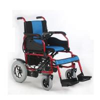 Wholesale Flip Up Armrest Portable Electric Wheelchair , Portable Folding Wheelchair from china suppliers