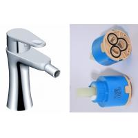 Wholesale Single hole Brass Bathroom Sink Faucets Deck Mounted , Solid Brass Body Toilet Bidet from china suppliers