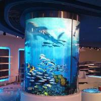 Wholesale Curved Glass Aquarium from china suppliers