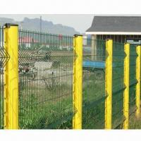 Buy cheap Frame Fence, 70 x 150 x 1.8m x 3m, 4.5mm PVC-coated Wire from wholesalers