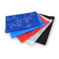 Wholesale 100% Eco-friendly silicone mats heat-resistant tableware soft rubber waterproof placemats from china suppliers