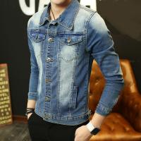 Wholesale Short Sleeve Stone Washed Men Denim Jean Jackets For Spring / Autumn / Summer from china suppliers