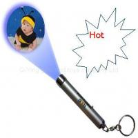 Wholesale Promotional Projection Torch With Keychain custom logo from china suppliers
